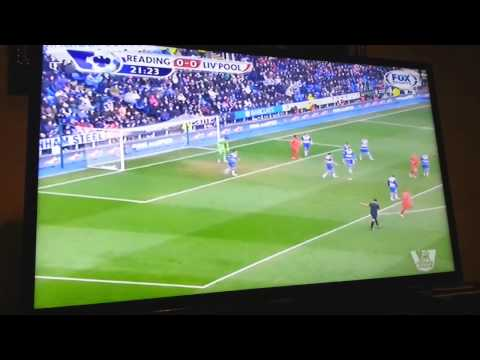 Reading Vs Liverpool 0-0 13042013