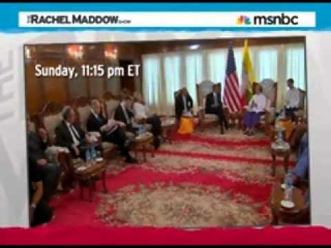 RACHEL MADDOW - THE ART OF DIPLOMACY