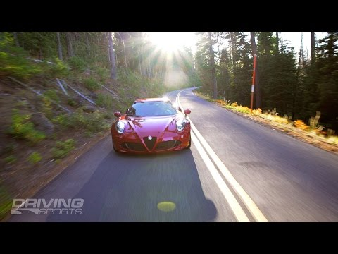 2015 Alfa Romeo 4C Reviewed and Driven