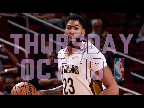 Video: NBA Daily Show: Oct. 18 - The Starters