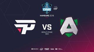 Alliance  vs paiN Gaming, ESL  One Hamburg, bo2, game 1 [Mila & Lum1sit]