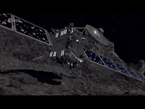 Visualisez la descente finale de Rosetta © ESA/ATG medialab, Music: Pawel Blaszczak