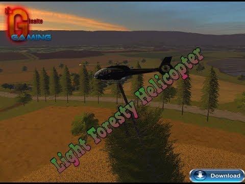 Light Foresty Helicopter v1.0