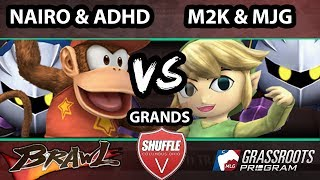Shuffle V – MJG & CT EMP | Mew2King Vs. Nairo & ADHD – SSBB Grand Finals – Smash Bros. Brawl: Will ADHD and Nairo finally be dethroned?