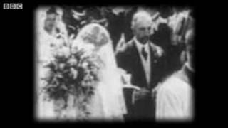 105 year old wedding video