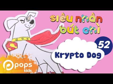 Hướng Dẫn Vẽ Krypto - Siêu Nhân Bút Chì- Tập 52- How To Draw Krypto Dog (Krypto the Superdog)
