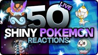 50 EPIC SHINY POKEMON REACTIONS! Pokemon Ultra Sun and Moon Shiny Montage! Best Shiny Reactions! by aDrive