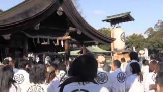国府宮はだか祭(1)大鏡餅奉納