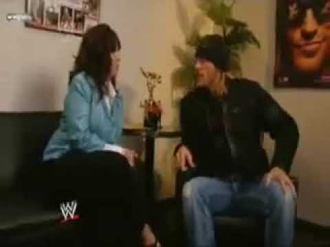 WWE 16.01.09 Edge and Vickie backstage