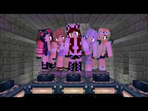 #59 Minecraft Friendtro ~Girl5~ LONG INTRO [Mine-Imator]: Don't request intro like this