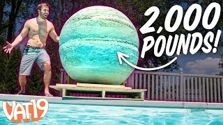 Video We Made the World's Largest Bath Bomb! MP3, 3GP, MP4, WEBM, AVI, FLV Januari 2019