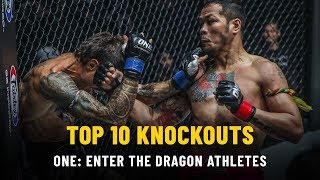 Video Top 10 KOs From ONE: ENTER THE DRAGON Athletes | ONE Highlights MP3, 3GP, MP4, WEBM, AVI, FLV Juni 2019