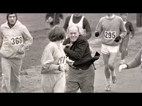 Kathrine Switzer: First Woman to Enter the Boston Marathon   MAKERS.com