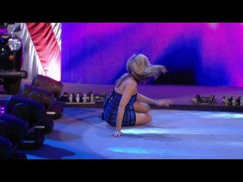 0 WWE Releases Video Of Lilian Garcia Tripping At This Weeks SmackDown Taping