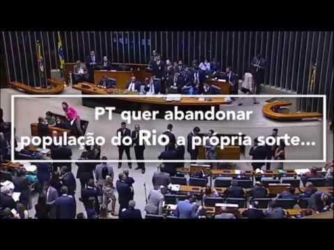 Para deputados do PSDB, intervenção no Rio é necessária diante do clima de insegurança