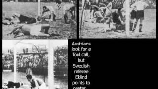 WM 1934: Skandal-Halbfinale: Österreich gegen Italien