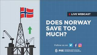 Does Norway save too much?