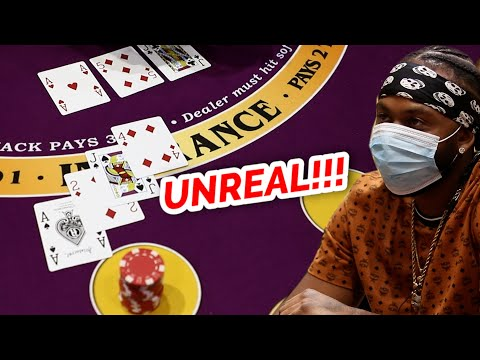🔥 UNREAL 🔥10 Minute Blackjack Challenge - WIN BIG or BUST #77