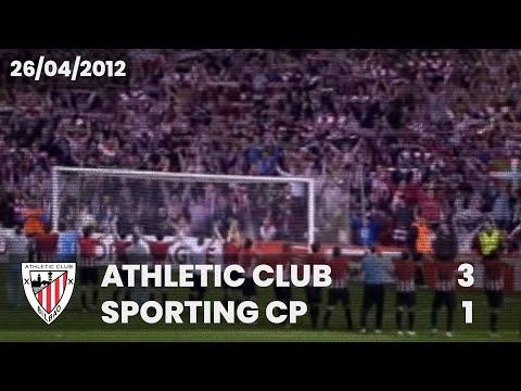 Europa L. 11-12 - 1/2 Vuelta - Athletic Club 3 Sporting CP 1 онлайн видео