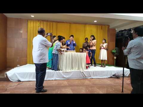 Watch video Krishna Teja, Down Syndrome child celebrates his birthday