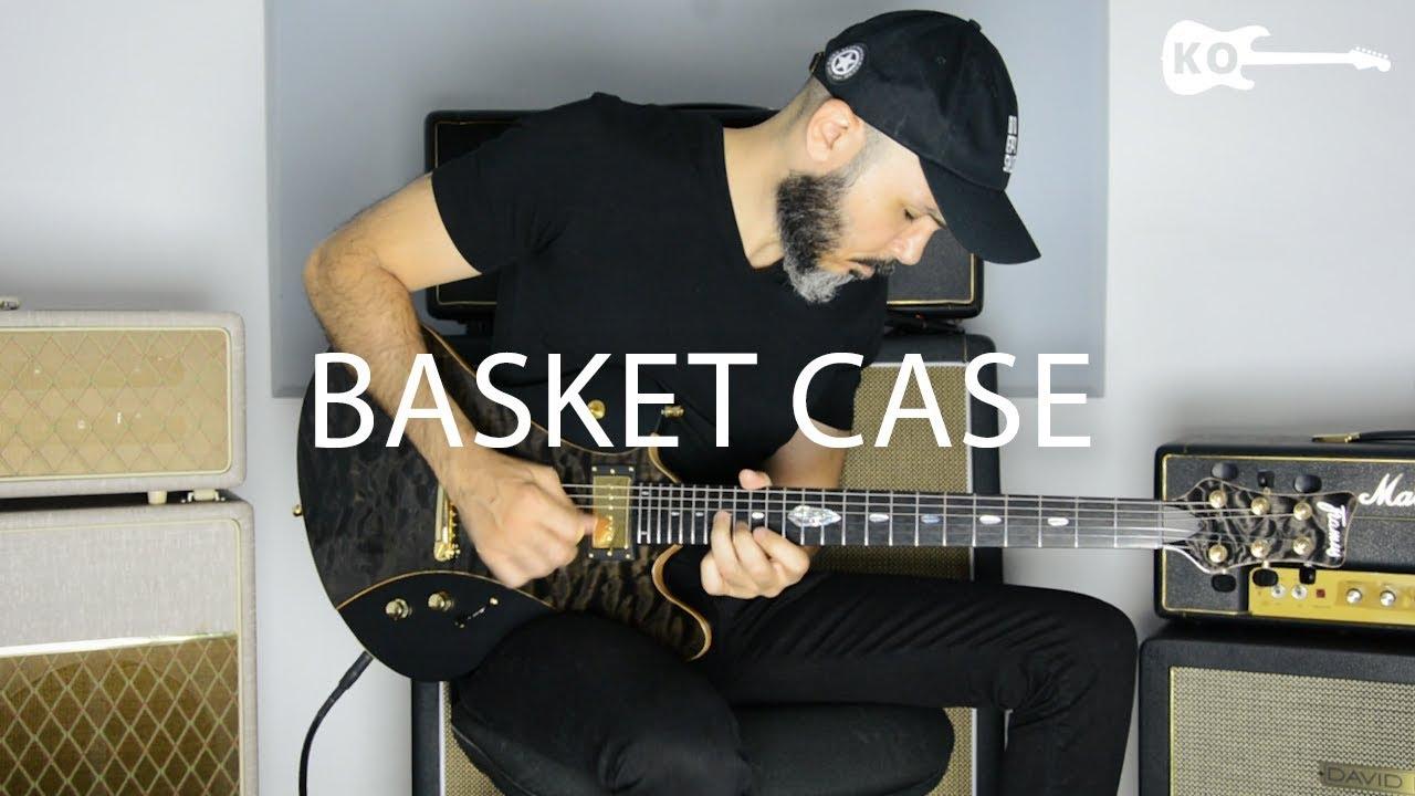 Green Day – Basket Case – Electric Guitar Cover by Kfir Ochaion