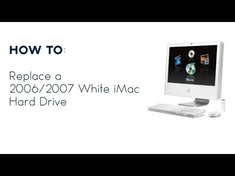 hard white - I recently had the hard drive fail in my late 2006 iMac that I use as a server. Since I had to replace the drive, I thought I would share how to swap it. I d...