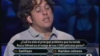 Mayor Problema De Rocco Siffredi - ¿Quiere Ser Millonario?