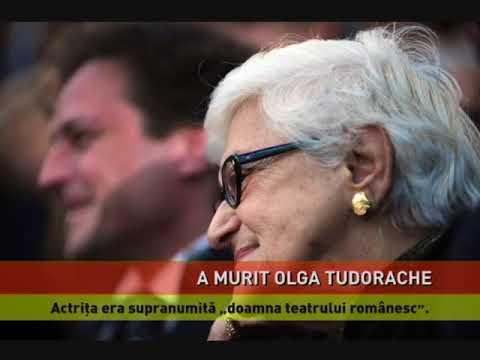 A murit marea actriță Olga Tudorache