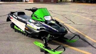 9. FOR SALE 2001 Arctic Cat Mountain Cat 600 EFI Snowmobile with 617 LOW MILES!  Asking $2,099