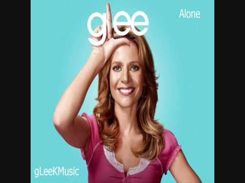 Tekst piosenki Glee Cast - Alone po polsku