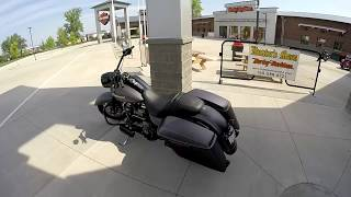 9. 2017 Road King Special 1st Ride Review