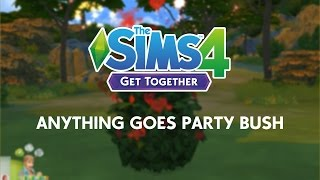 The Sims 4 Get Together: Anything Goes Part Bush, EA Games, video games