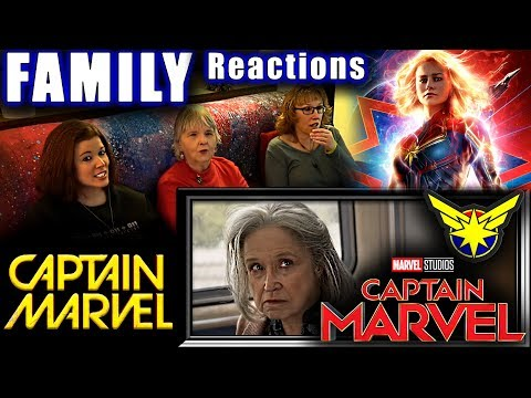 CAPTAIN MARVEL Trailer 2 | FAMILY Reactions