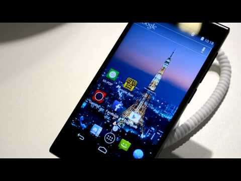 ZTE Blade VEC 4G - hands-on (IFA 2014)