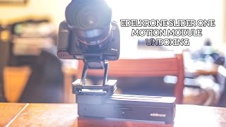 EDELKRONE SLIDER ONE MOTION MODULE REVIEW