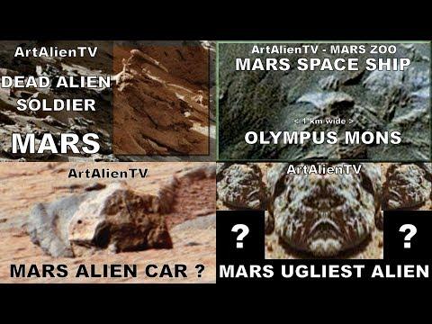 """Mars Alien Anomalies Entire Collection: MarsZOO.TV 2014. """"Interstellar Recon"""" ArtAlienTV 1080p"""