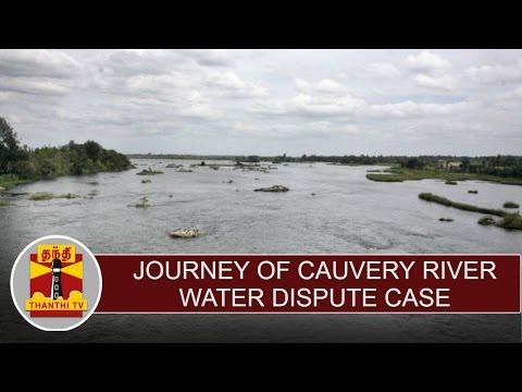Journey-of-Cauvery-river-water-dispute-case-Thanthi-TV