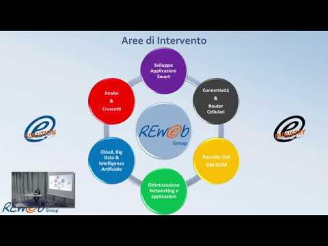 """Video workshop Reweb """"Iot Recharge: gestione smart della distribuzione elettrica"""""""