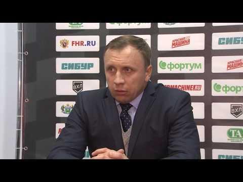 Михаил Звягин о матче с