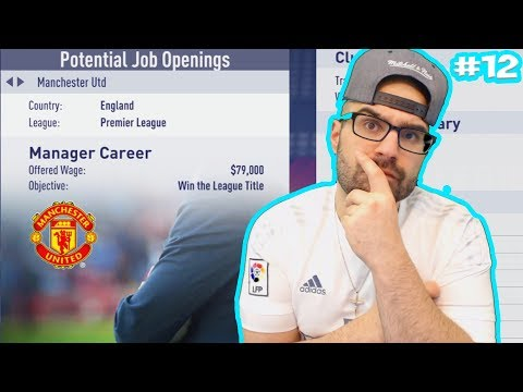 MANCHESTER UNITED OFFER ME THE JOB! - FIFA 18 Career Mode Real Madrid #12