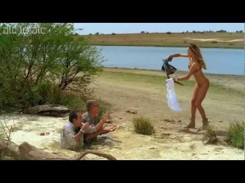Belen Rodriguez casi desnuda