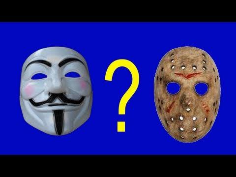 Máscara de papel machê