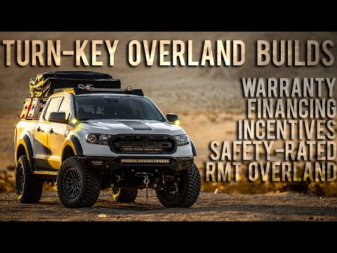 RMT Overland Built Trucks - Turn-Key Offroad Adventure Rigs with Warranty, Financing, Incentives