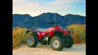 1. Clymer Manuals Honda TRX300 Fourtrax 300 TRX300FW Fourtrax Manual Fourtrax Manual Video ATV