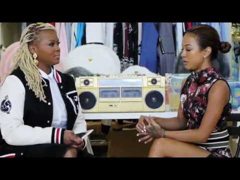 Fashion - FashionBombDaily.com's Editor-in-Chic Claire Sulmers sat down with Karrueche Tran at Joyrich LA's showroom to talk personal style and fashion.