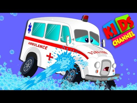 car wash car videos for toddlers kindergarten songs for babies by kids channel