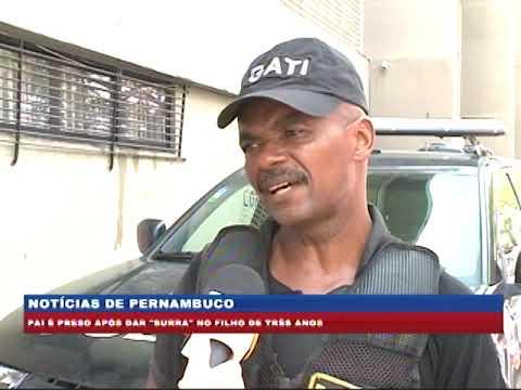 [BRASIL URGENTE PE] Pai é preso após bater no filho de três anos
