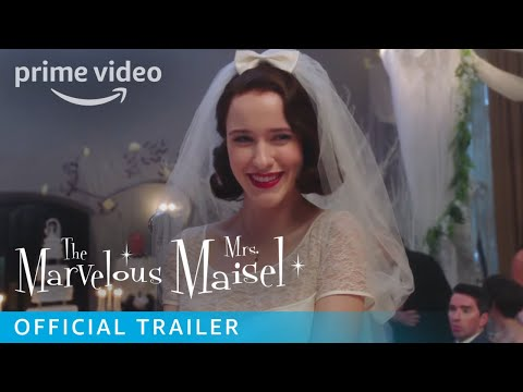 The Marvelous Mrs. Maisel Season 1 - Official Trailer [HD] | Prime Video