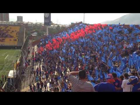 Salida Los De Abajo / U.Española vs Udechile - Los de Abajo - Universidad de Chile - La U