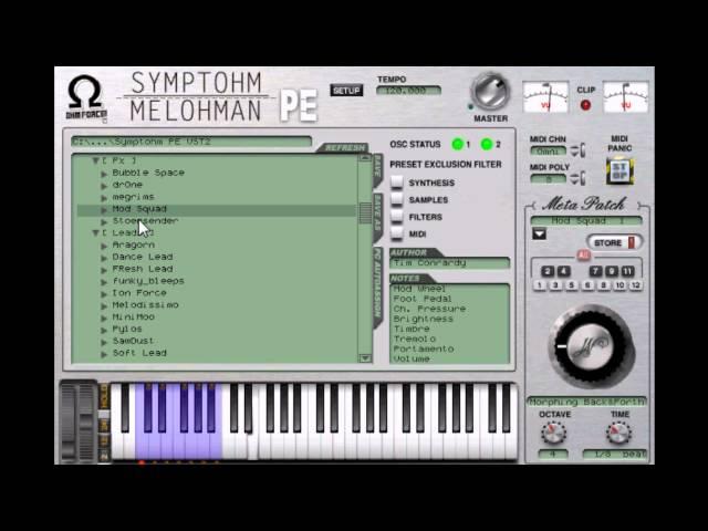 Symptohm Melohman PE  by Ohms Force  video 1